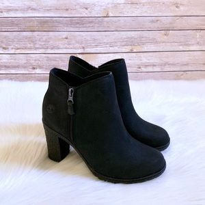 Timberland Black Tillston Ankle Boots